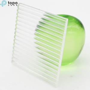Topo Super Clear/Clear Patterns Figured glass