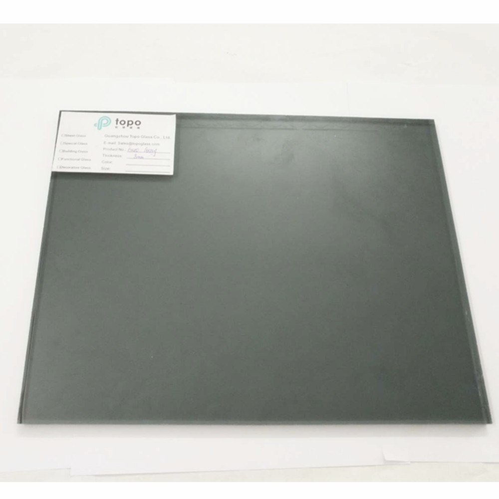 4mm-12mm Wholse Dark Grey Float Construction Glass