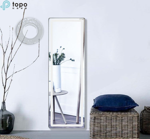 Decorative Bathroom Mirror with LED Lamp