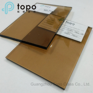 4mm 5mm 6mm 8mm 10mm 12mm Golden Brown Float Glass