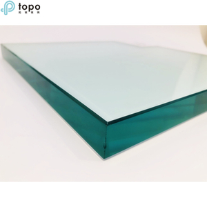 25mm Tempered Safety Clear Float Sheet Glass