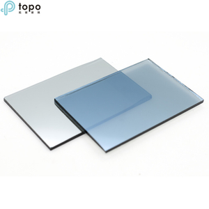 4mm-10mm Ford Blue Coated Reflective Building Glass