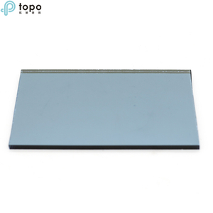4mm-10mm Medium Blue Coated Glass For Decoration