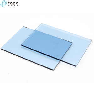 4mm-12mm Tinted Ford Blue Windows Float Glass