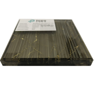 Unique Fabric Laminated Wire Glass